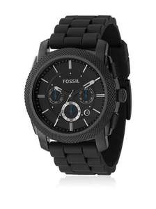 FOSSIL Herren-Armbanduhr Men's Dress Chronograph Analog Quarz FS4487 und andere Modelle