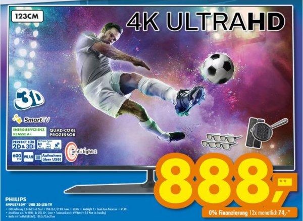 (Lokal) Philips 49PUS7809 3D Ultra HD Smart LED Fernseher EEK: A+ @Euronics XXl