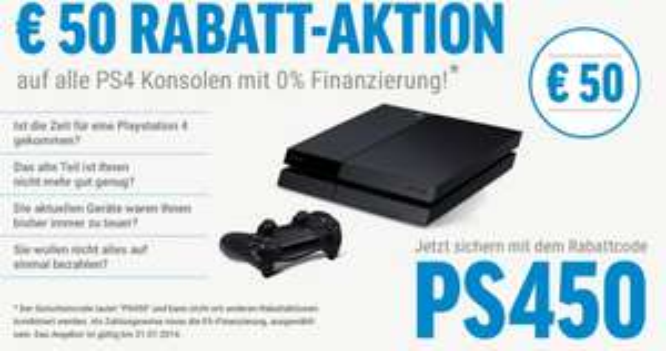 PS4 329@ bzw. PS$ inkl. Destiny 389€ via 0%Finanzierung