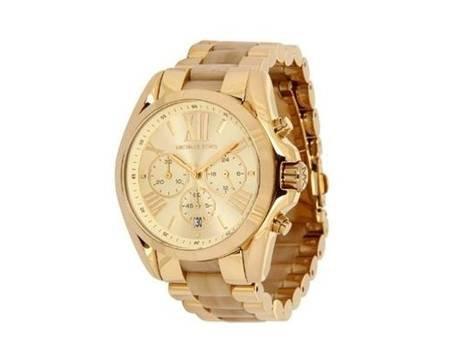 Michael Kors MK5722 Damen Armbanduhr Chronograph Bradshaw gold nur 119,99 Euro