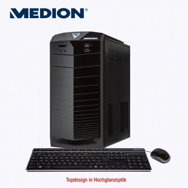 Medion Akoya P5250 D (IntelCore i5-4460, Nvidia GTX-750, 4 GB Ram, 1 TB Festplatte, Windows 8.1) 499€ ab dem 25.09
