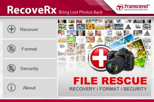 Kostenlos: Transcend's RecoveRx FILE RESCUE Software für Apple Mac OS & Windows