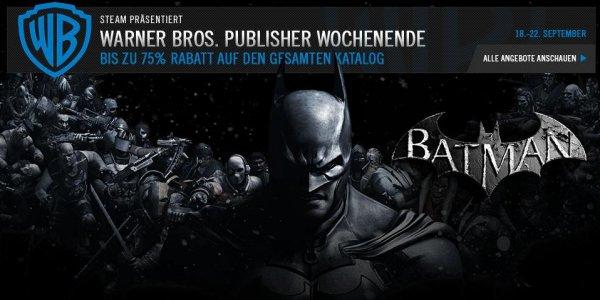 Steam Publisher Wochenende: Warner Bros.