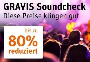 Gravis Soundcheck Sale z. B. Philips SHL9350 Bügel-Kopfhörer für 14€