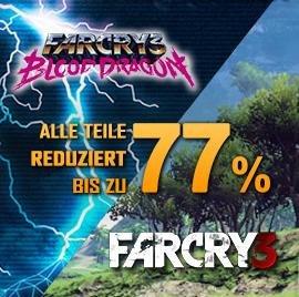 [Far Cry 3] Titel ab 3,49 EUR übers WE bei Gamesrocket