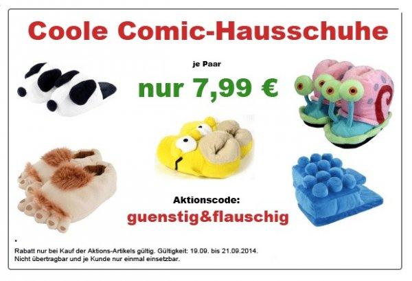 Homer Simpson Hausschuhe für 7,99€ + Versandkosten