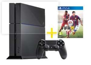 Playstation 4 inkl. FIFA 15 Bundle @ Media Markt / Saturn / Gamestop / Notebook.de / Amazon? 399 Euro