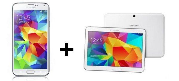 Telekom Complete Comfort S für 29,95€/Monat – Samsung Galaxy S5 + Galaxy Tab 4 10.1 + 15.000 Meilen -- effektiv +-0€