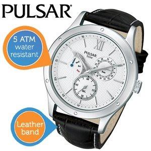 Pulsaruhr für Herren mit Lederarmband PQ7005X1 55,90 € inkl. Versand / Idealo ab: 101,20 €