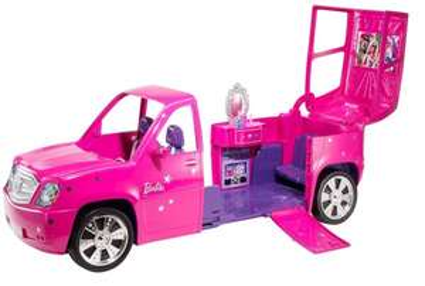 Mattel Barbie V6826 - Fashionistas Glam-Limousine, Auto 29,41€ inkl. Versand