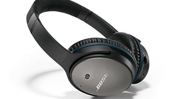 BOSE  QuietComfort 25 Noise Cancelling Kopfhörer für 270 statt 300