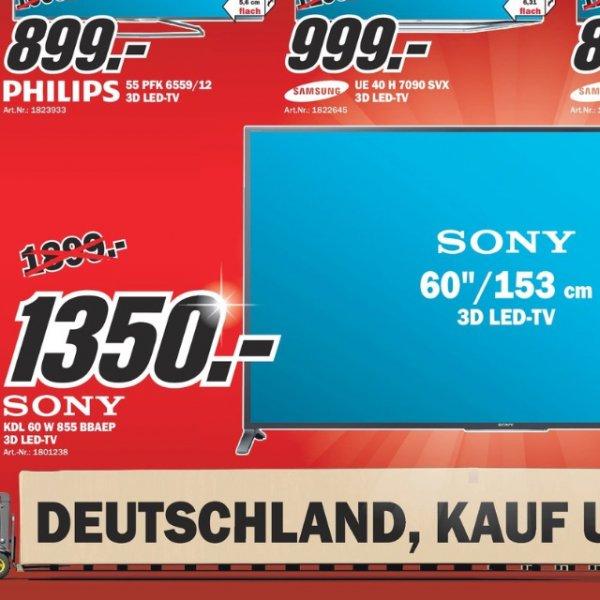Sony KDL-60W855 Lokal Bremen