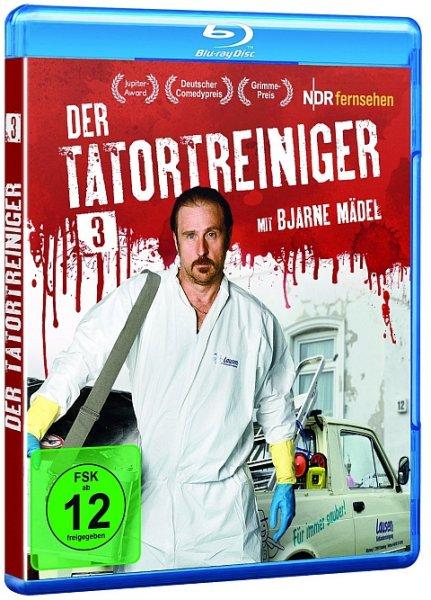 """Der Tatortreiniger"", Staffel 3 (Blu-ray) ab 10,90€ inkl. Versand vorbestellen @buch.de/thalia.de/bol.de"