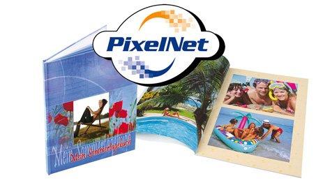 [PixelNet/CB] 156-seitiges Fotobuch für 12,90 €