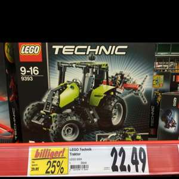 [lokal Aschaffenburg Kaufland] Lego 9393 Technic Traktor reduziert, 50% unter idealo