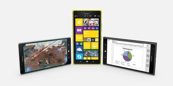 Nokia Lumia 1520 (deutsche Ware, ohne Branding) für 364,04-379,99 EUR bei OTTO