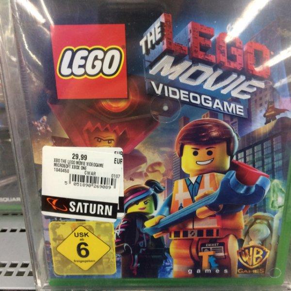 Xbox one Spiel lego The Movie 29,99 Saturn Wuppertal