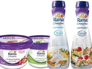 [NETTO MD] 8x Rama Cremefine versch. Sorten 200g/250ml für 0,44€/Stück (Angebot + Coupon)