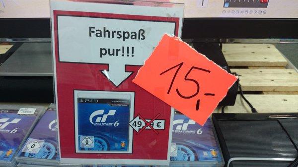 [offline -?Lokal?] Gran Turismo 6 für PS3 - Media Markt Neubrandenburg für 15€