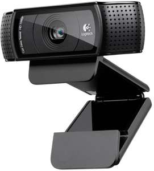 [amazon.uk] Logitech C920 USB HD Pro Webcam (Autofokus, Mikrofon) schwarz inkl. Vsk für 51,70 €