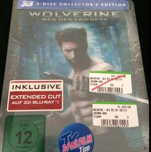 Wolverine - Weg des Kriegers 3D - Limited Lenticular Edition (3 BluRay) bei Media Markt Berlin Schöneweide