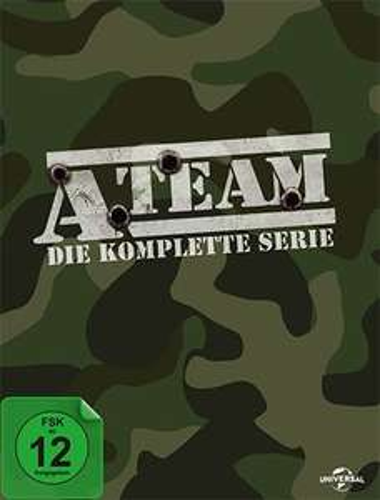 Mediamarkt (online): A-Team - DVD-Staffel 1-5 (27 DVDs) versandkostenfrei für nur 30 Euro