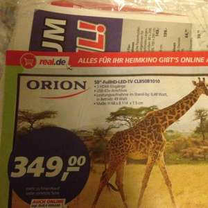 """Orion 50"""" Full HD LED TV A+ @ real"""