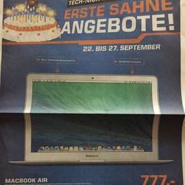 [Saturn Bremen City ] MacBook Air MD760D/B