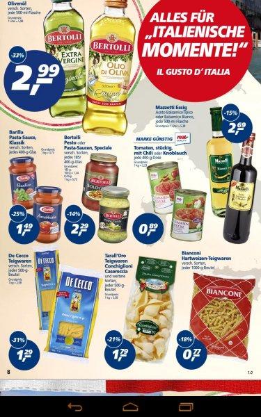 [real/25.09.14]1 kg Nudeln(verschiedenen. Sorten) für 0,69€ ( Angebot +10% Rabatt)