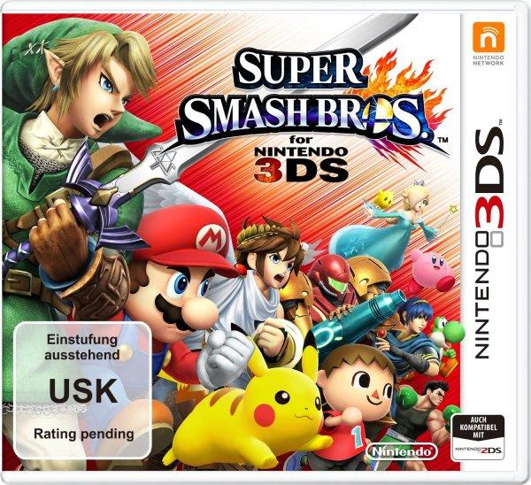 Super Smash Bros. für 3DS bei Conrad für 34,59€ vorbestellen