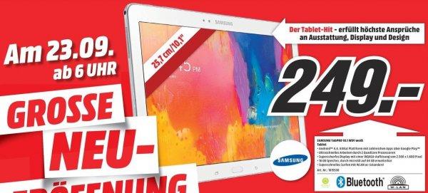 [Lokal MM Ingolstadt] DEALSAMMLUNG zur Neueröffnung mit viele Angeboten z.B. Samsung Galaxy Tab Pro 10.1 WiFi  249€, UE Boom 99€, Panasonic DMC-TZ36 99€