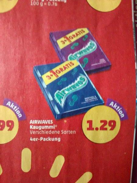 [Penny] Wrigley's Airwaves verschiedene Sorten, 3+1 für 1,29 € (Bundesweit)