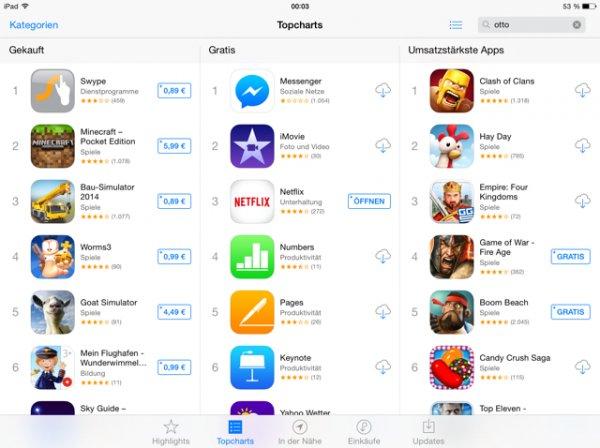 Keynote, Pages, iMovie & Numbers gratis (iOS) Gratis im AppStore!