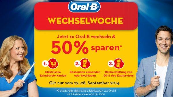 Oral B Zahnbürsten nochmal günstiger!