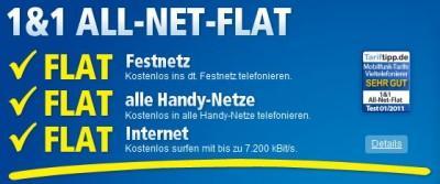 1&1 All-Net-Flat mit dem Galaxy S2 für 39,99 monatl. und eimalige Zahlung 199,-€