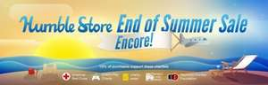 Humble Store End of Summer Sale Encore - Einige Titel der Aktion nochmal im Angebot!