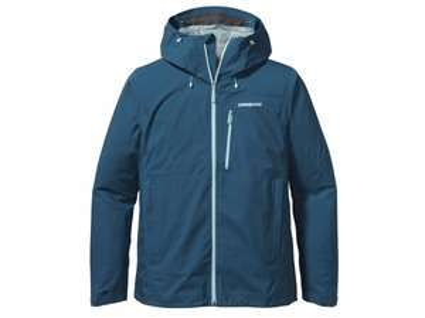 Patagonia - Leashless Jacket - Hardshelljacke Gore Tex blau und orange [Bergfreunde.de]
