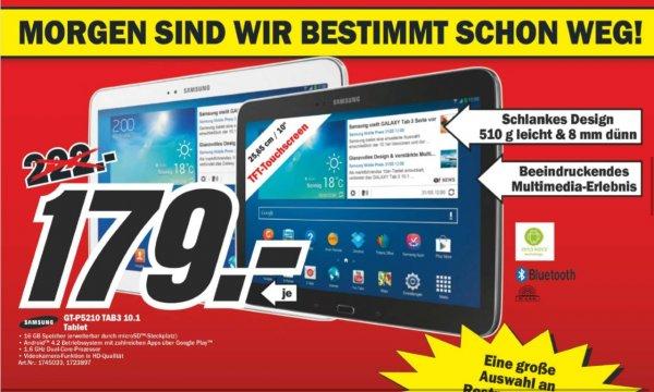 [MediaMarkt Berlin&BB] Samsung Tab3 10.1 // ab Do 179€