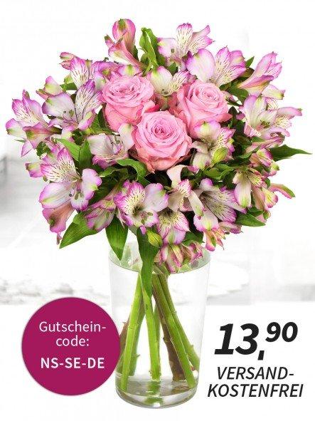 """[Miflora] Blumenarrangement - """"Nachtschwärmer"""" für 13,90 (QIPU: -1,56€)"""