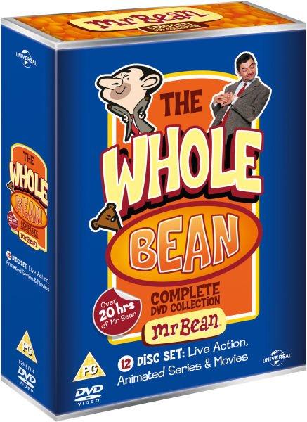 DVD Box Set - The Whole Bean (12 Discs) für €20,65 [@Zavvi.nl]