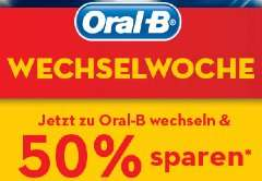 Oral-B Pro 650 Cross Action für 12,22€ @conrad.de