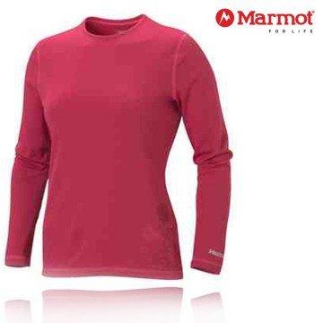 Marmot Damen Funktionsshirt Midweight Crew LS