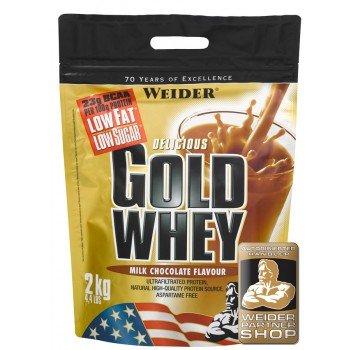 WEIDER GOLD WHEY PROTEIN (2KG STANDBEUTEL) für 44,15€ inkl Versand