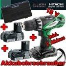TOP: Hitachi DS 18 DFL Akku-Bohrschrauber (1.5L) inkl. 2 Li-Ion Akkus + Koffer für 79,90 EUR inkl. Versand
