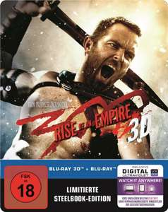 300: Rise of an Empire 2D/3D Steelbook Amazon exklusiv 22,97€