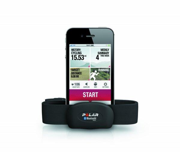 Polar H7 Bluetooth Herzfrequenz-Sensor für Smartphones zum Tiefpreis von 36,74€ @Conrad