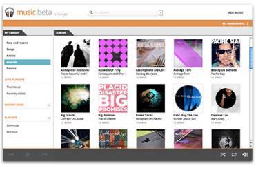 Einladungen zu Google Music BETA