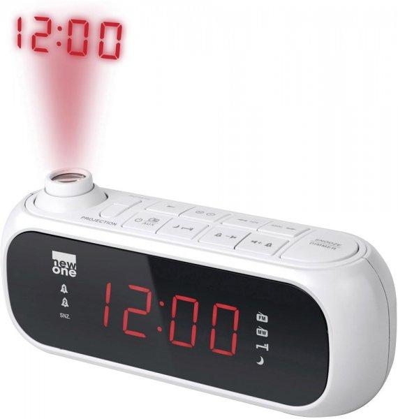 New one CR 135, Radiowecker mit Uhrzeit-Projektion bei digitalo