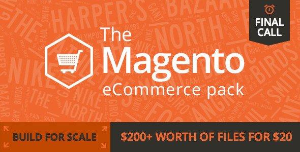 Magento eCommerce Pack für 20$