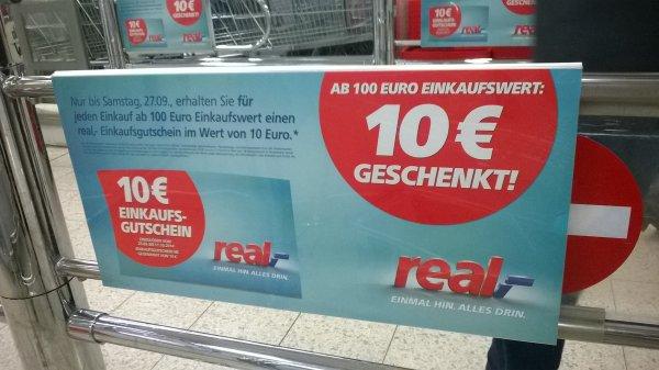 [REAL][LOKAL][Halle-Neustadt] 10€ Gutschein ab 100€ Einkauf